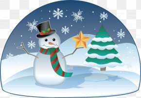 Winter Time Cliparts - Winter Holiday Snowman Clip Art PNG