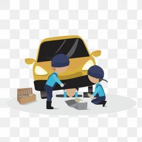 Car Maintenance Vector 4s - Car Service Gratis PNG