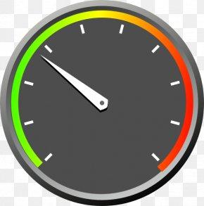 Meter - Dial Speedometer Tachometer Clip Art PNG