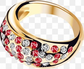 Gold Ring - Jewellery Ring Costume Jewelry Clip Art PNG
