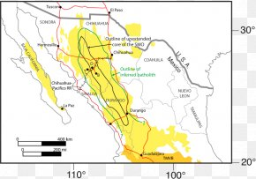 Map - Mexican Plateau Sierra Madre Oriental Large Igneous Province Map Igneous Rock PNG