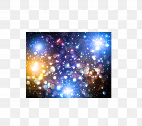 Vector Stars Background - Starlight Euclidean Vector Color PNG