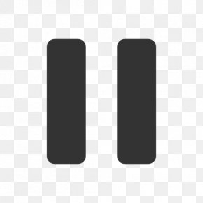 Pause Button Image - Brand Pattern PNG