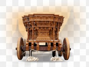 Antique Wheel - Vehicle Wagon Cart Furniture Wood PNG