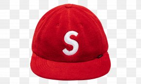 Supreme Hat Transparent Background Headgear - Baseball Cap Product RED.M PNG