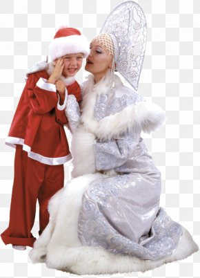 Santa Claus - Santa Claus Snegurochka Ded Moroz Christmas Clip Art PNG