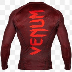 T-shirt - T-shirt Rash Guard Venum Brazilian Jiu-jitsu Clothing PNG