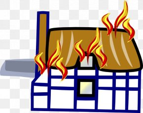 House Fire Cliparts - Fire Safety Home Clip Art PNG