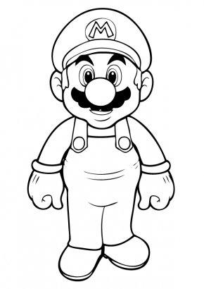 Teamwork Coloring Pages - Super Mario Bros. Donkey Kong Super Mario Kart Mario & Luigi: Superstar Saga Mario & Luigi: Bowsers Inside Story PNG
