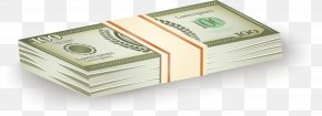 A Stack Of Dollar Vectors - Cash United States Dollar Money Coin PNG