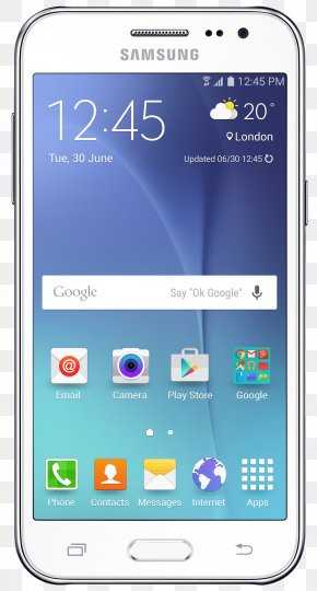 Android - Samsung Galaxy J5 Android Smartphone Display Device PNG