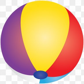 Beach Ball Transparent Clip Art Image - Beach Ball Clip Art PNG