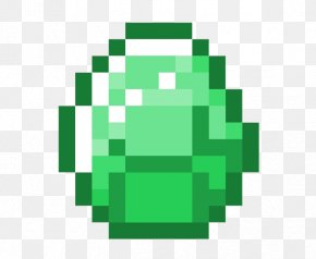 Emerald Stone Transparent Images - Minecraft Roblox Diamond Video Game PNG