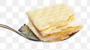 Soda In The Spoon - Spoon Saltine Cracker Biscuit PNG