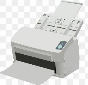 White Printer - Hewlett Packard Enterprise Printer Image Scanner Brother Industries Peripheral PNG