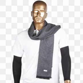 T-shirt - T-shirt Scarf Neck Sleeve Stole PNG