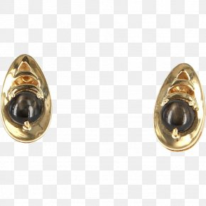 Gold - Earring Colored Gold Carat Body Jewellery PNG