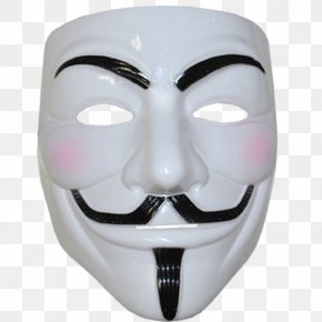 Mask - Guy Fawkes Mask Costume Anonymous V For Vendetta PNG