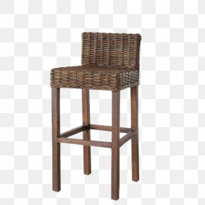 Rattan Chair - Table Bar Stool Wicker Chair Rattan PNG
