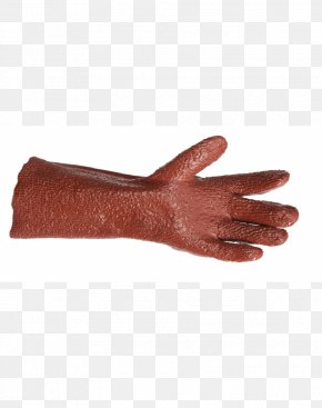 Hand - Thumb Elbow Hand Glove Red PNG