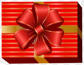 Red Gift Box Clip Art Image - Image File Formats Lossless Compression PNG