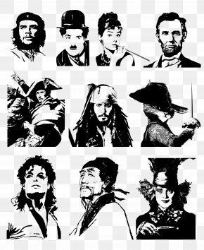 People Stick Figure - Silhouette Pirates Of The Caribbean DeviantArt Person PNG