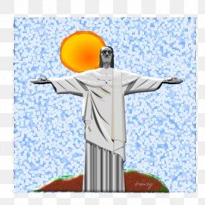 Mário Bros - Christ The Redeemer Corcovado Carioca Aqueduct Statue Clip Art PNG