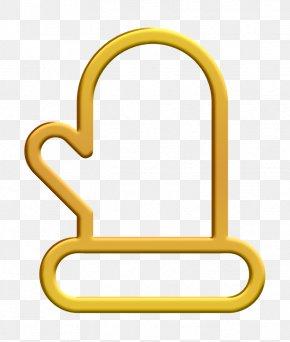 Yellow Santa Icon - Christmas Icon Clothing Icon Glove Icon PNG