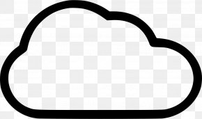 Snow Cloud Icon - Clip Art Product Black Line Special Olympics Area M PNG
