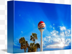 Water Tower - Water Tower Canvas Print Pensacola Beach PNG