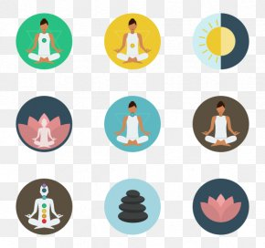 Relax Clipart - Yoga Icon PNG