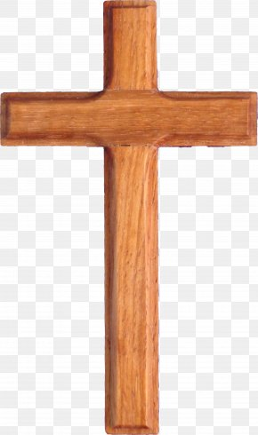 Christian Cross - Christian Cross Wood Clip Art PNG