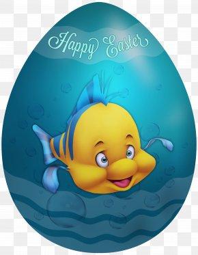 Kids Easter Egg Flounder Clip Art Image - Duck Clip Art PNG