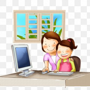 Internet Cartoon Psd - Computer File Clip Art Download PNG