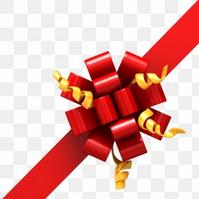 Ribbon Cutting - Ribbon Paper Gift Wrapping Christmas Clip Art PNG