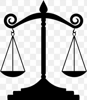 Be Late For Class - Measuring Scales Lady Justice Clip Art PNG