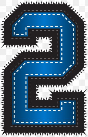 Blue Sport Style Number Two Clip Art Image - The Arts Clip Art PNG