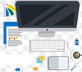 Vector Desktop Laptop - Laptop Computer Keyboard Desktop Computer PNG