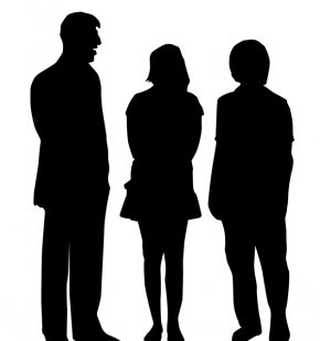 People Talking Cliparts - Silhouette People Photography Clip Art PNG