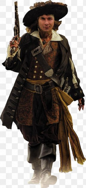 Pirate - Hector Barbossa Jack Sparrow Pirates Of The Caribbean: The Curse Of The Black Pearl Geoffrey Rush Will Turner PNG