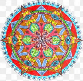 Mandala - Quick, Draw! Mandala Drawing Compass Coloring Book PNG