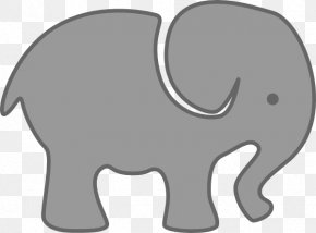 Gray Elephant Cliparts - African Elephant Indian Elephant Clip Art PNG