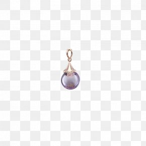 Gemstone Necklace - Purple Pearl Body Piercing Jewellery Human Body PNG