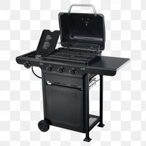 Outdoor Grill - Barbecue Char-Broil Grilling Backyard Grill Dual Gas/Charcoal Smoking PNG