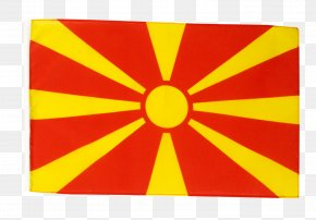 Flags - Flag Of The Republic Of Macedonia Flag Patch Flags Of The World PNG