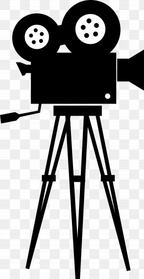 Movie Film Cliparts - Movie Camera Film Director Clip Art PNG