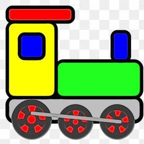 Rolling Stock Locomotive - Transport Vehicle Line Rolling Locomotive PNG