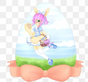 Easter - Easter Bunny Cartoon Legendary Creature PNG
