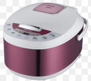 Purple Rice Cooker - Rice Cooker Congee PNG