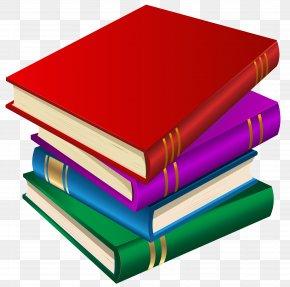 Books Clipart Image - Book School Clip Art PNG